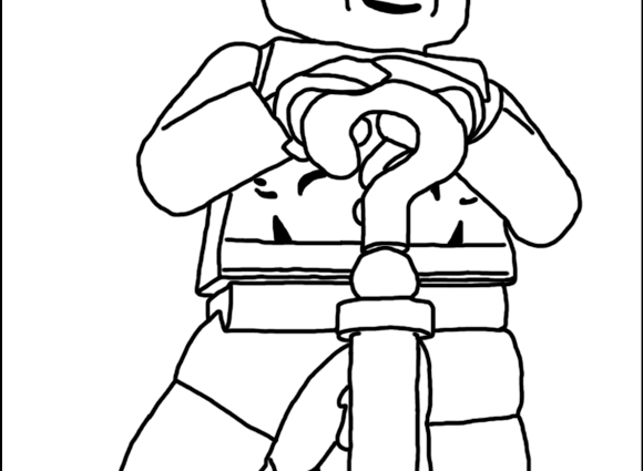 580x425 Lego Dc Coloring Pages Color Pages For Batmans Villians Lego Lego