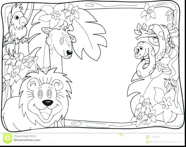 615x489 Lemur Coloring Page Coloring Page Lemur Ring Tailed Lemur Coloring