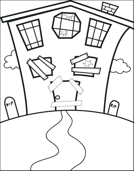 549x700 Haunted Mansion Coloring Pages Haunted Mansion Coloring Pages