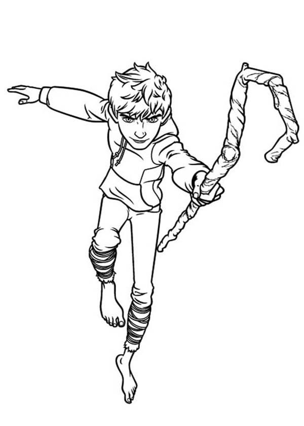 600x840 Rise Of The Guardians Jack Frost Amazing Attack Coloring Pages