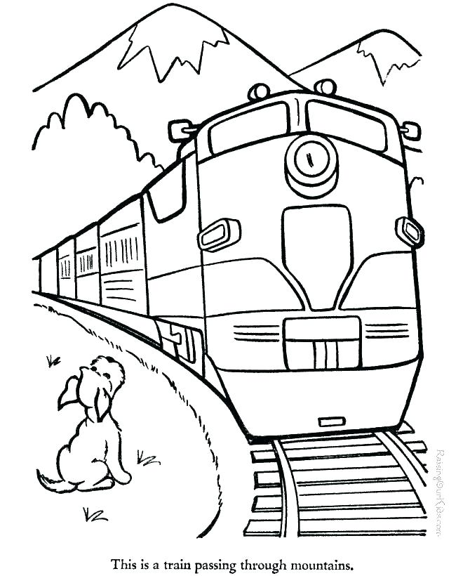 670x820 Coloring Book Pages To Print Coloring Pages Of Mountains River