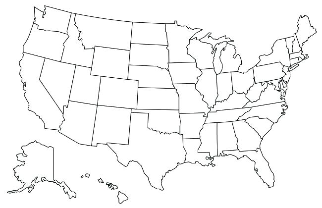 650x420 Pennsylvania Coloring Pages S Us Road Map Us Map For Coloring