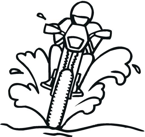 480x454 Road Coloring Page Click To See Printable Version Of Racing