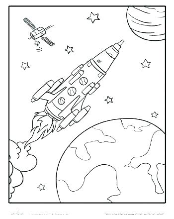 350x440 Road Coloring Page