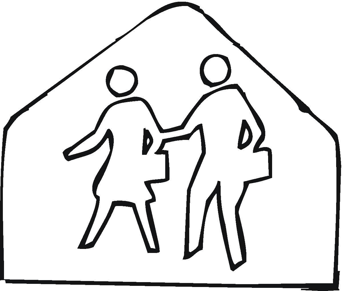 Road Signs Coloring Pages At Getdrawings Com Free For Personal Use