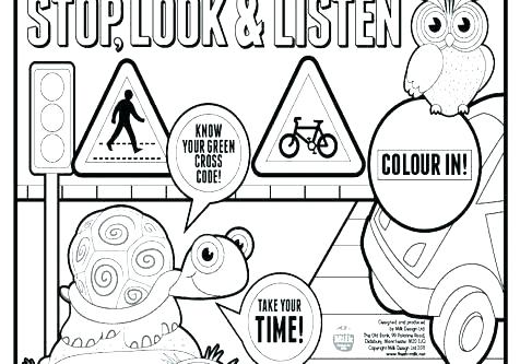 The Best Free Traffic Coloring Page Images Download From 199 Free Coloring Pages Of Traffic At Getdrawings