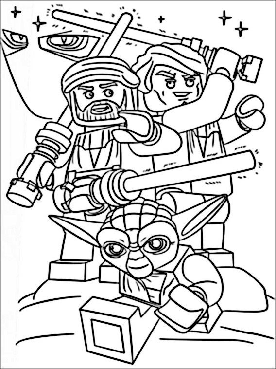 568x758 Lego Star Wars Coloring Pages Coloring Pages For Kids