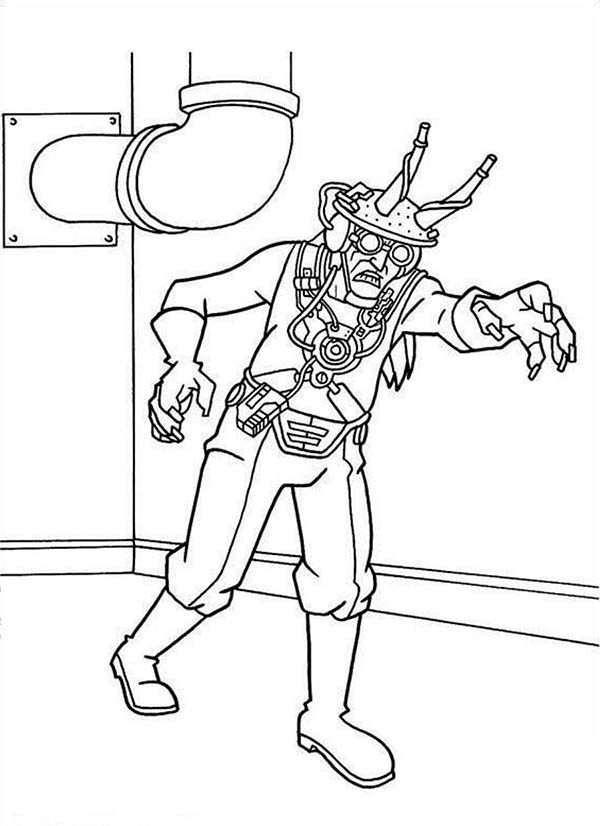 600x826 Mega Mindy Zombie Enemy Coloring Pages Batch Coloring