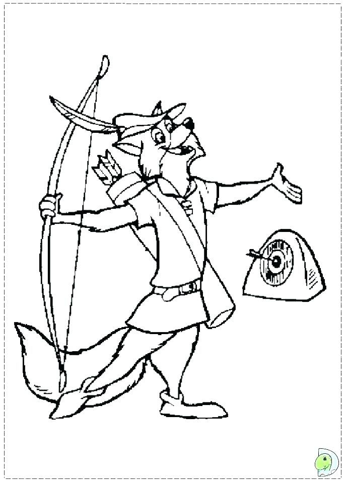 691x960 Robin Hood Coloring Page Robin Coloring Sheet Robin Coloring Page