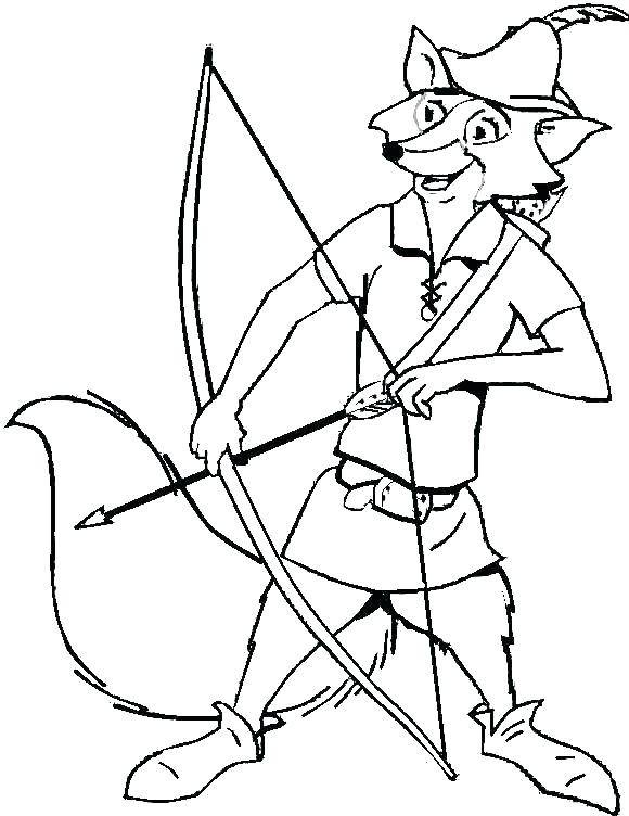 580x752 Robin Coloring Pages Robin Hood Coloring Pages Robin Hood Coloring