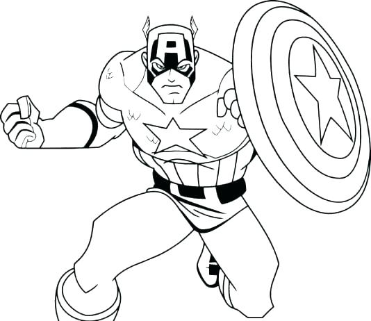 534x462 Marvel Heroes Coloring Pages Free Printable Batman And Robin