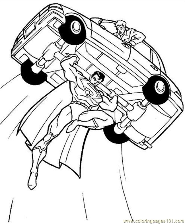 650x787 Superhero Printable Coloring Pages