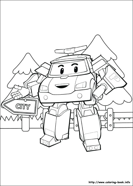 567x794 Robocar Poli Coloring Pages Coloring Picture Robocar Poli Coloring