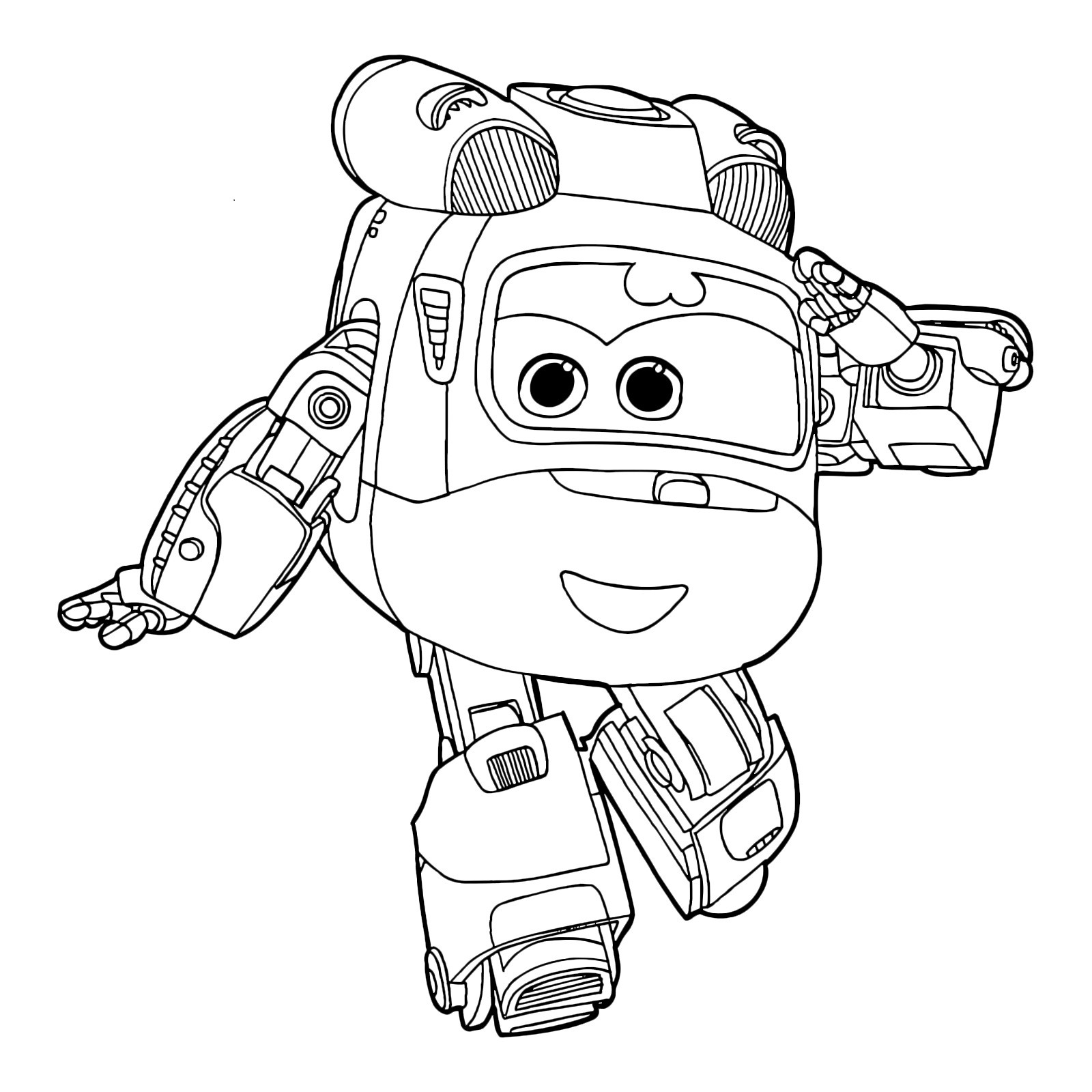 1600x1600 Robocar Poli Coloring Pages And Amber For Kids Beautiful Sup