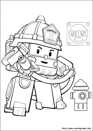 321x450 Robocar Poli Coloring Robocar Poli Amber Coloring Pages