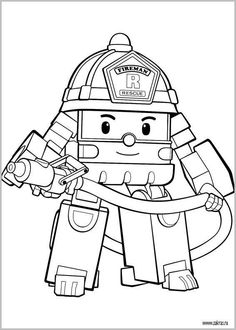 236x330 Dibujos De Robocar Poli Volver A La Robocar Poli