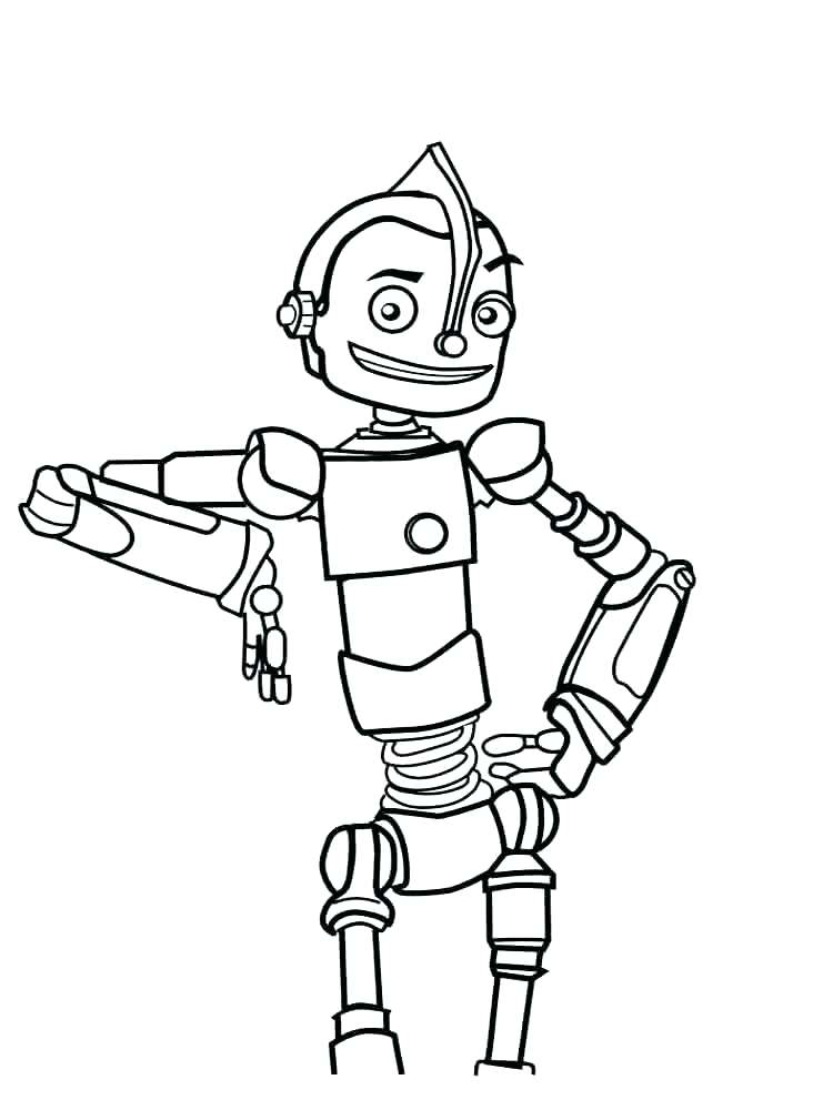 Robot Coloring Pages At Getdrawings Com Free For Personal Use
