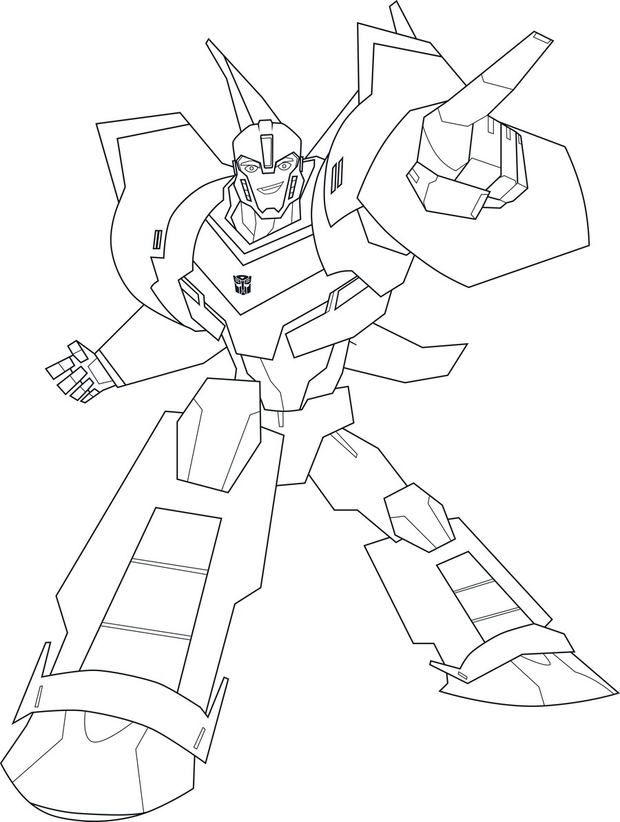 Robots In Disguise Coloring Pages