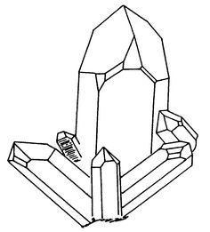Rock And Mineral Coloring Pages At Getdrawings Free Download