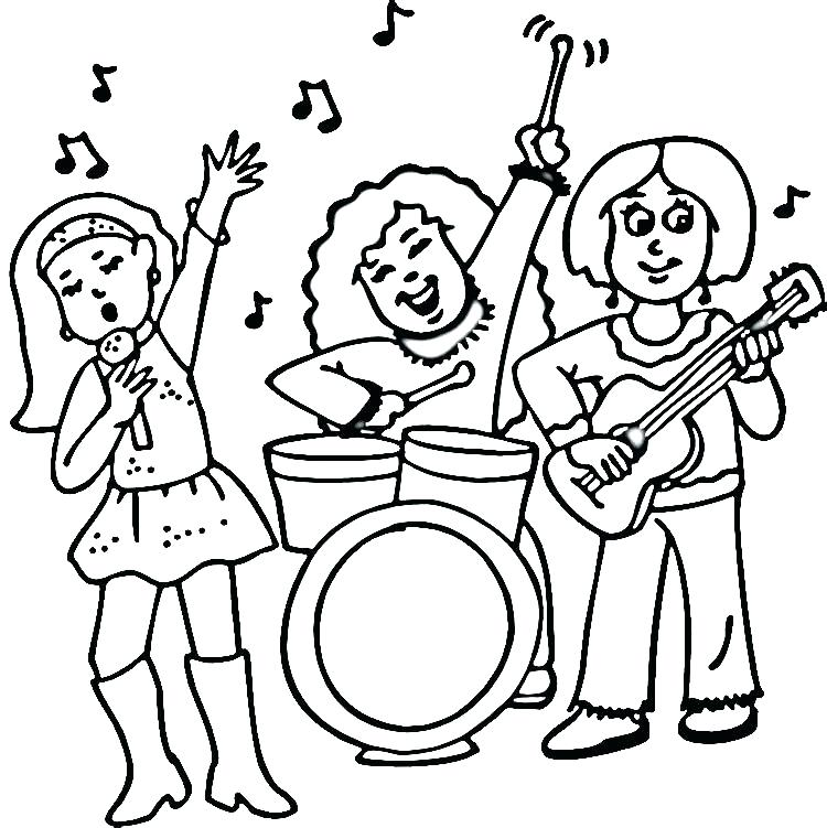 750x751 Rock Roll Coloring Pages Rock Roll Coloring Pages Rock