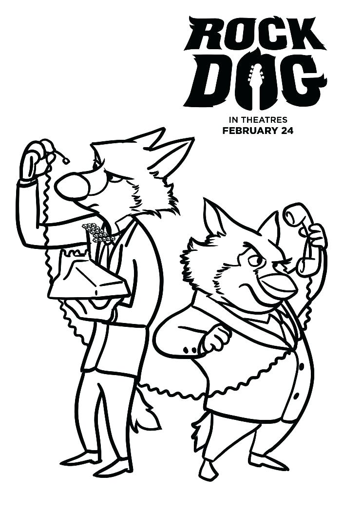 704x1088 Rock N Roll Coloring Pages Coloring Pages Dog Free Rock Dog