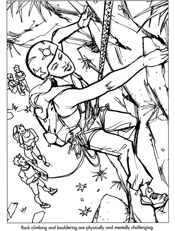 610x806 Welcome To Dover Publications Summer Coloring Pages