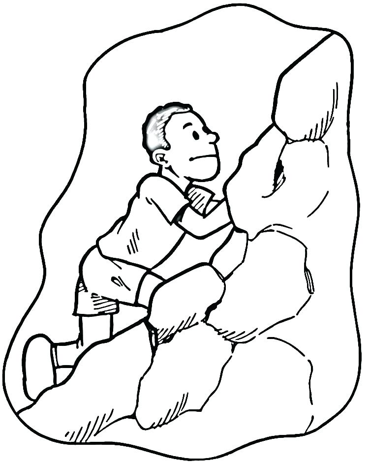750x939 Rock Coloring Pages Page Book