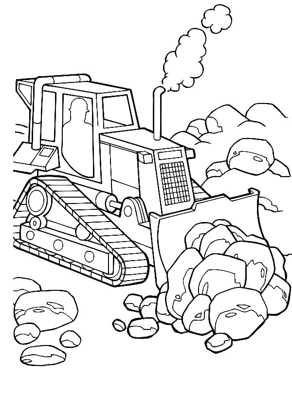 Rock Cycle Coloring Page