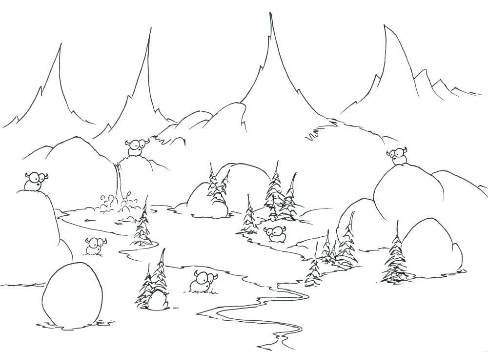 1000x721 Rock Cycle Coloring Page Rocks Coloring Pages Coloring Pages Bison