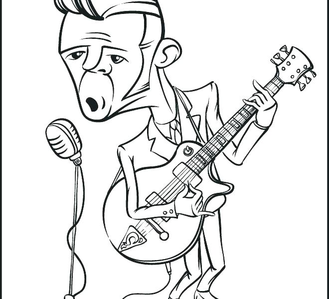 660x600 Rock And Roll Coloring Pages Coloring Rock And Roll Coloring Pages