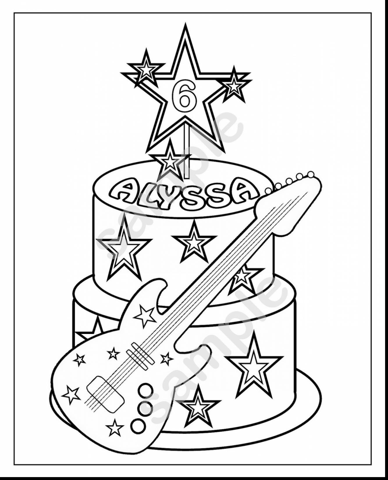 1334x1650 Rock Star Coloring Pages Resume