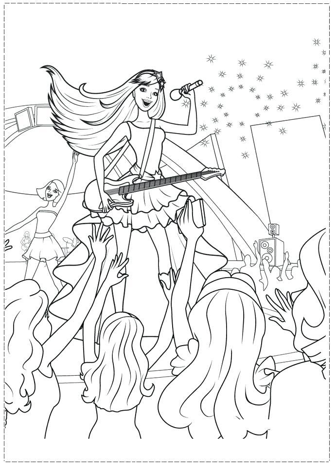 691x960 Rockstar Coloring Pages Printables Rock Star Free Printable