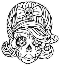 236x258 Dia De Los Muertos Coloring Pages Dia De Los Muertos Tootie