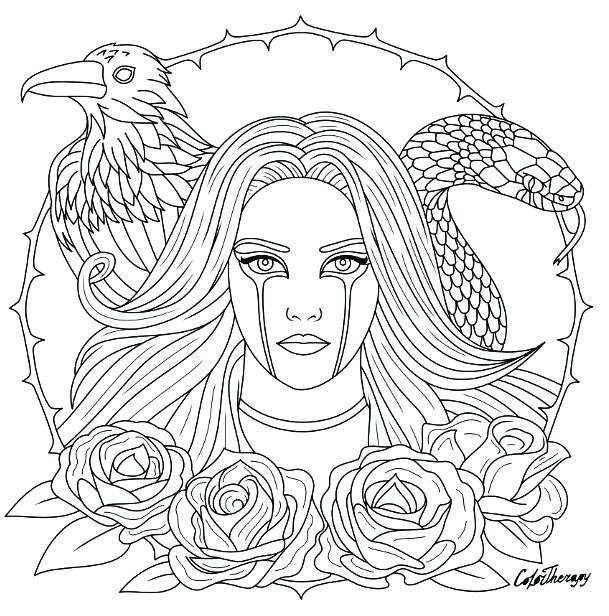 609x616 Gothic Coloring Pages Coloring Page View Larger Coloring Sheet