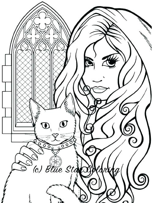 500x662 Printable Fairy Colouring Pages For Adults Unicorn Coloring Kids