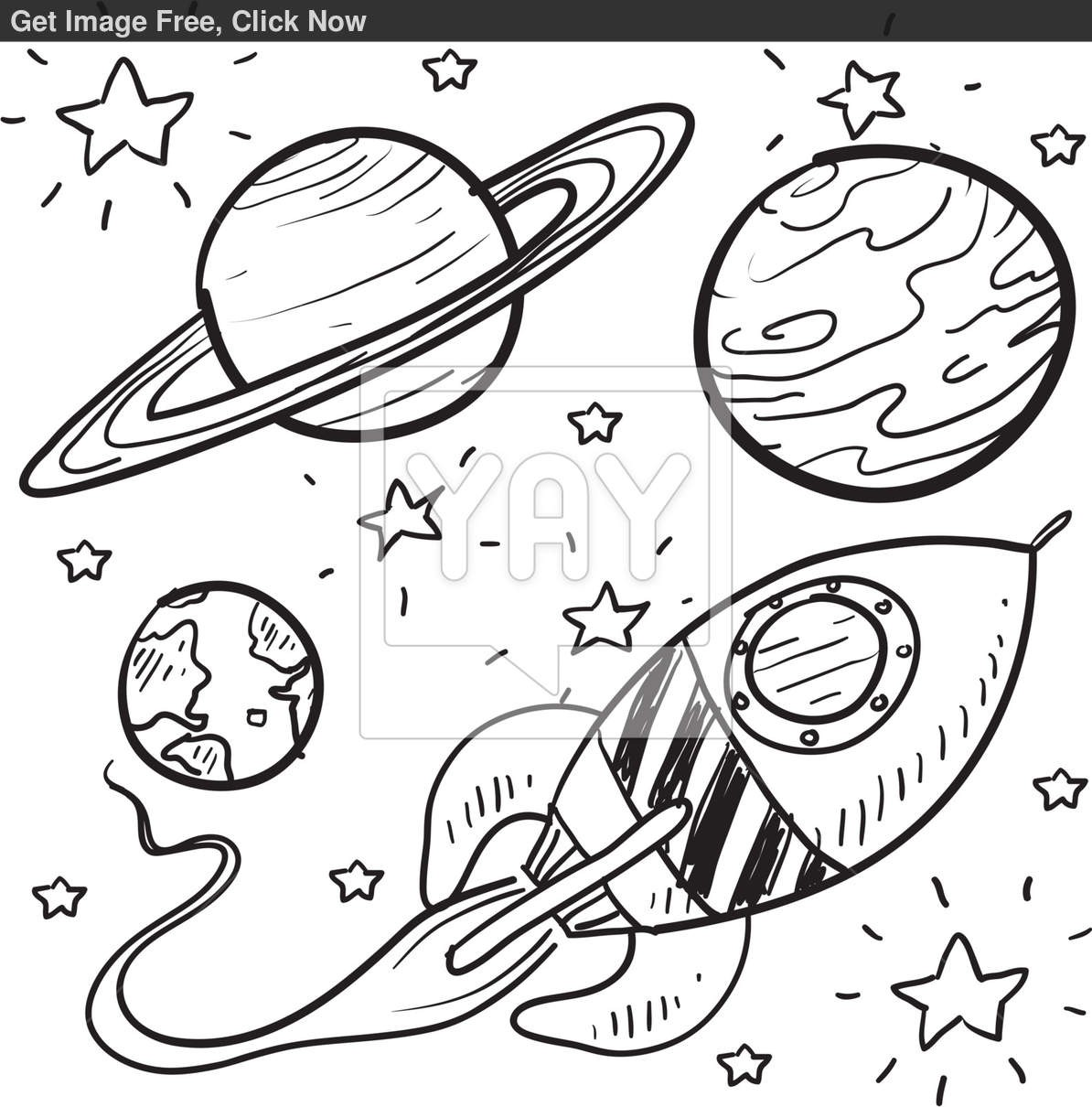 1194x1210 Rocket Coloring Pages