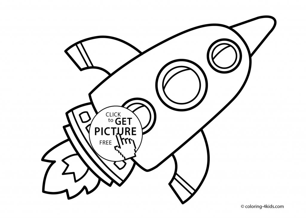1024x730 Rocket Coloring Pages Printable Coloring Page