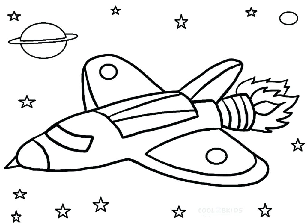 1024x748 Rocket Colouring Pages Space Ship Coloring Page Printable Rocket