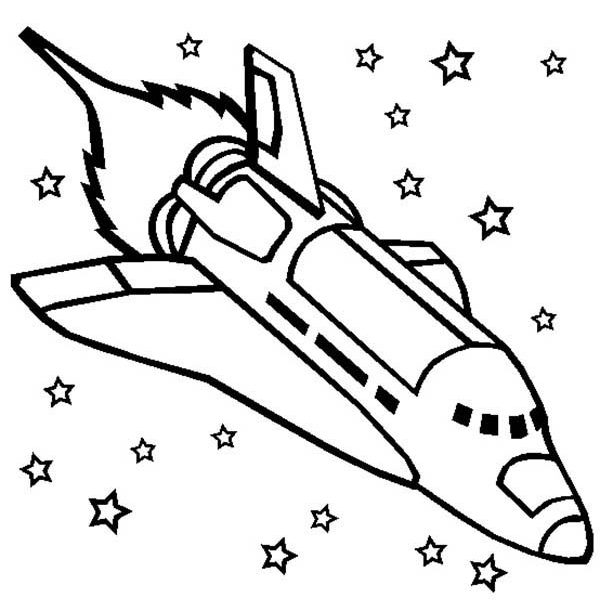 601x600 Rocket Coloring Pages Free Coloring Page