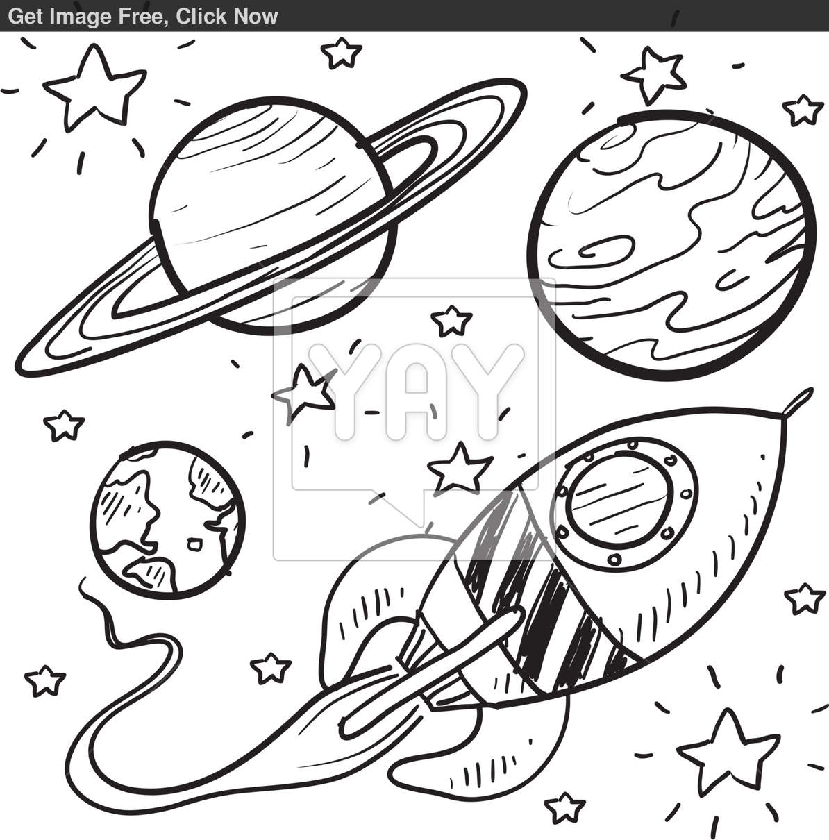 Rocket Coloring Pages For Kids At Getdrawings Free Download