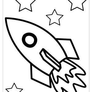 300x300 Simple Ship Coloring Pages Fresh Simple Rocket Coloring Pages