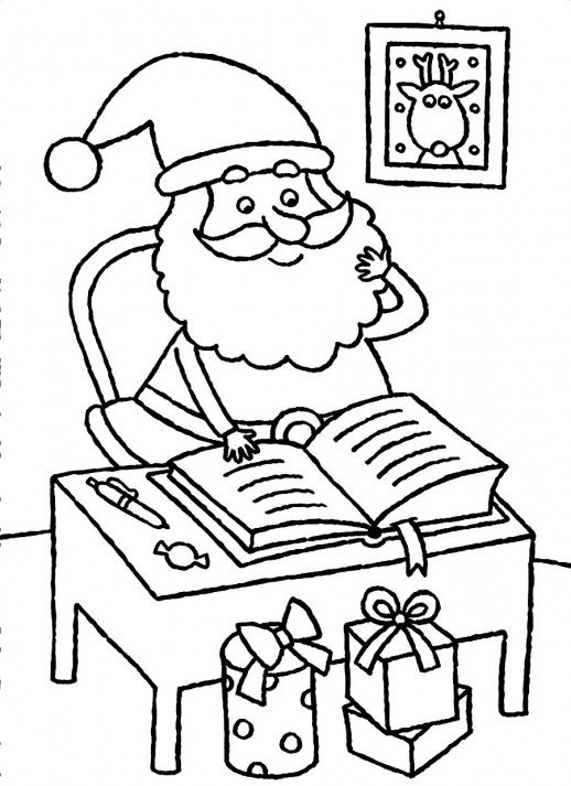 Rocking Chair Coloring Page
