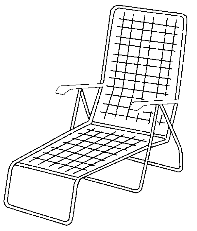 675x792 Lawn Chair Coloring Pages