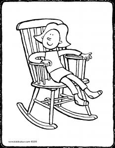 233x300 Emma In A Rocking Chair