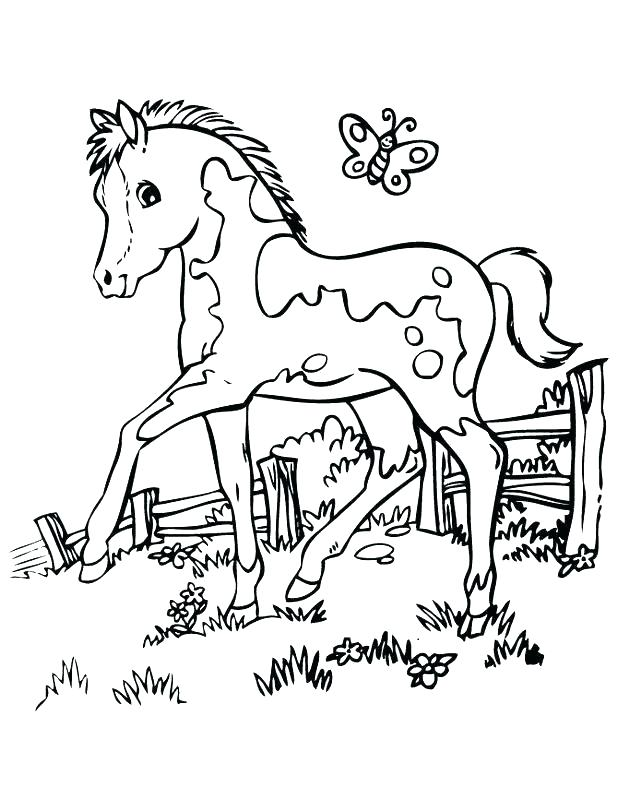 rocking horse coloring pages 31