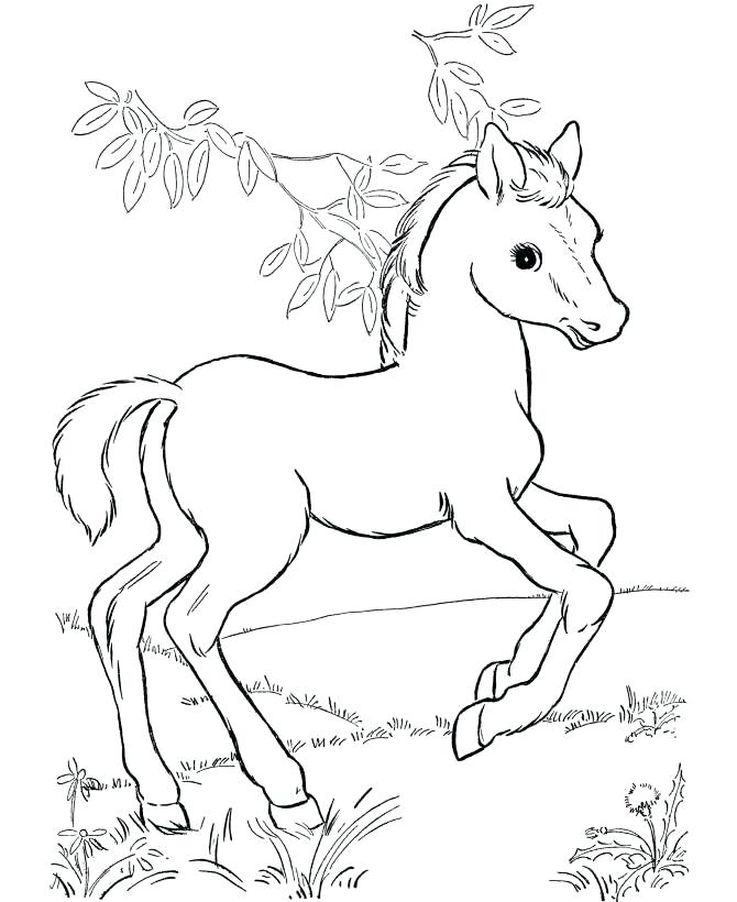 rocking horse coloring pages 36