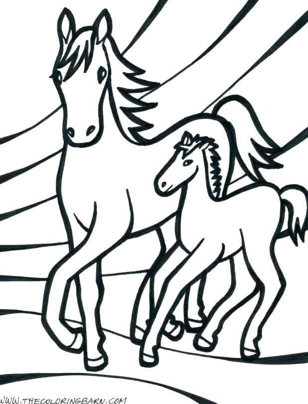 rocking horse coloring pages 40
