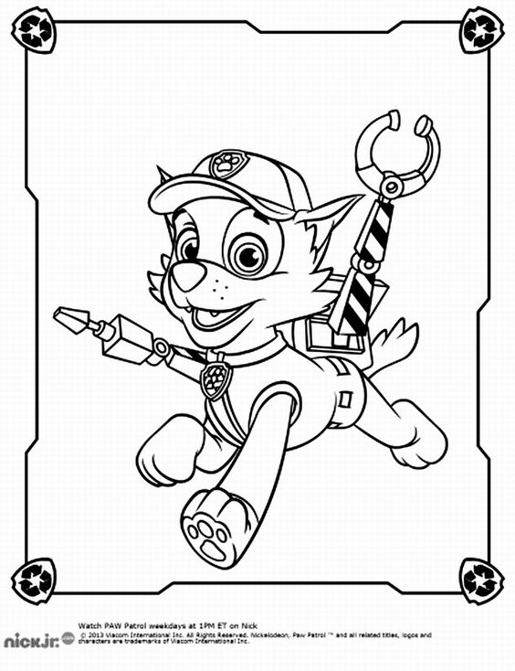 564x734 Paw Patrol Coloring Pages Got Coloring Pages