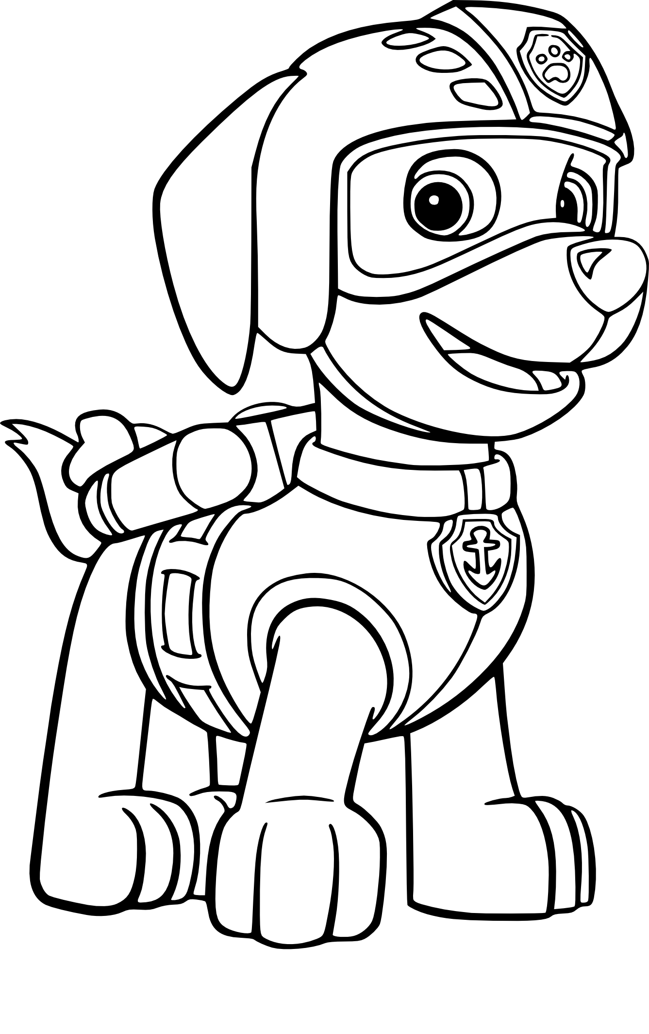 1337x2128 Rocky Paw Patrol Coloring Page Pictures Free Coloring Pages