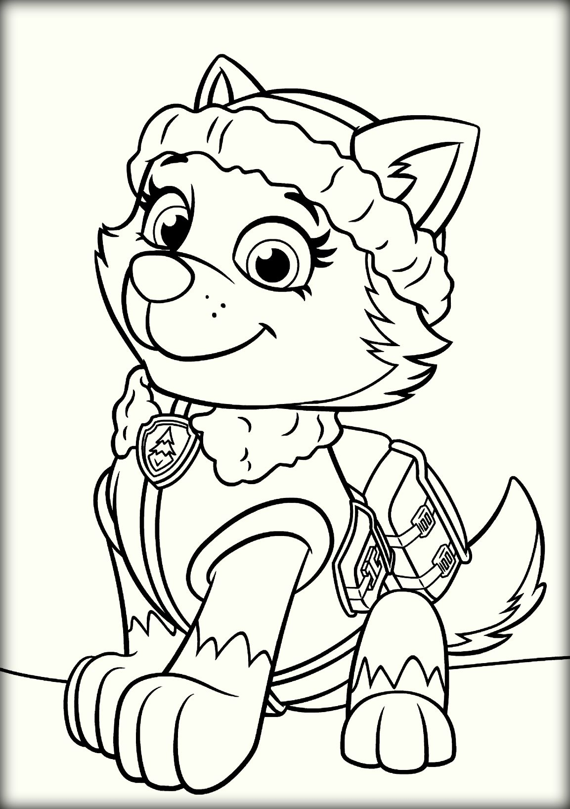 1153x1636 Rocky Paw Patrol Coloring Page Pictures Free Coloring Pages